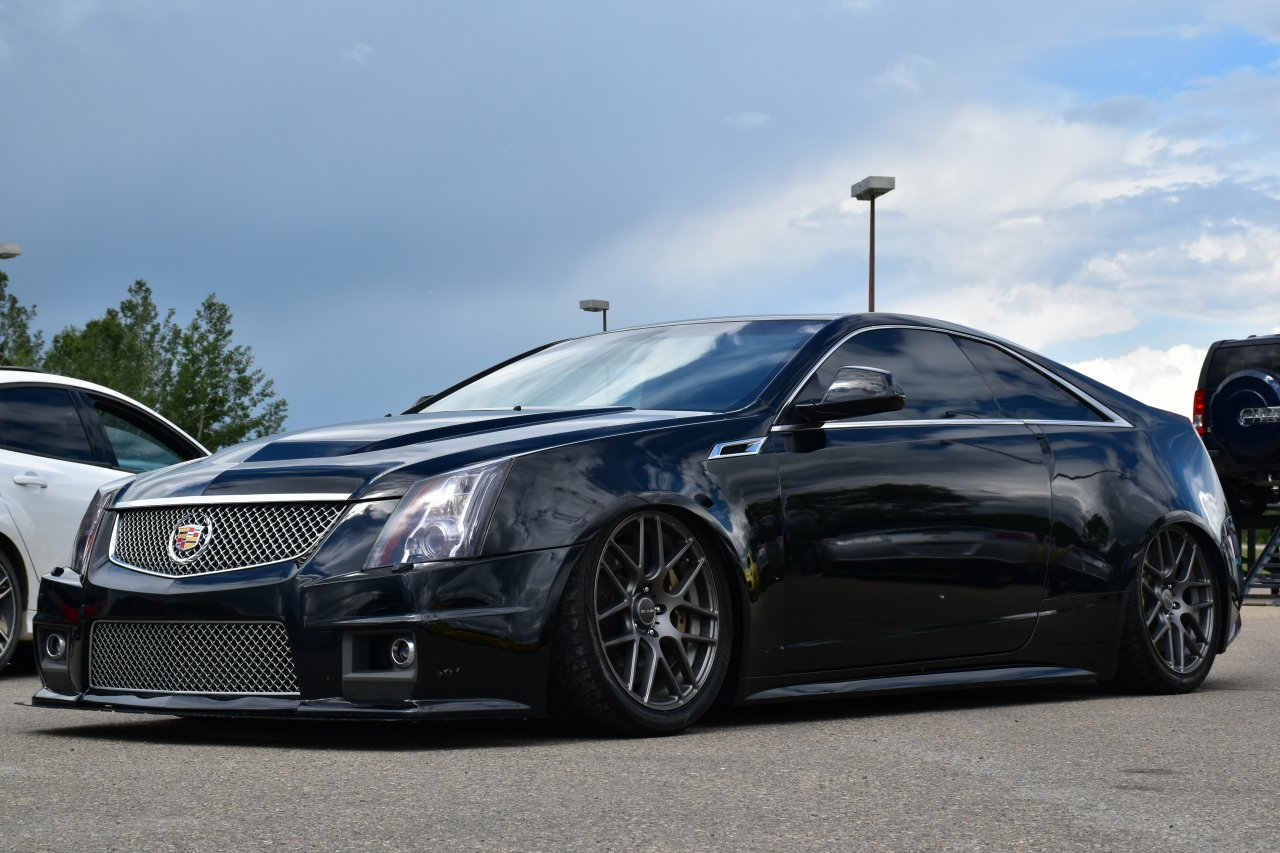 2011 cadillac cts v coupe supercharged 2dr