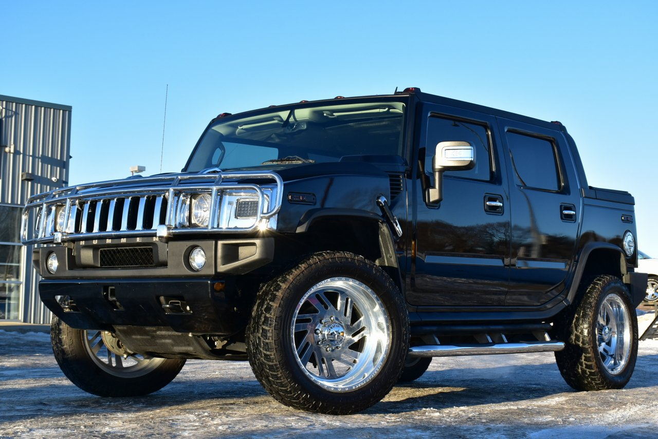 2008 hummer h2 sut 4wd loaded