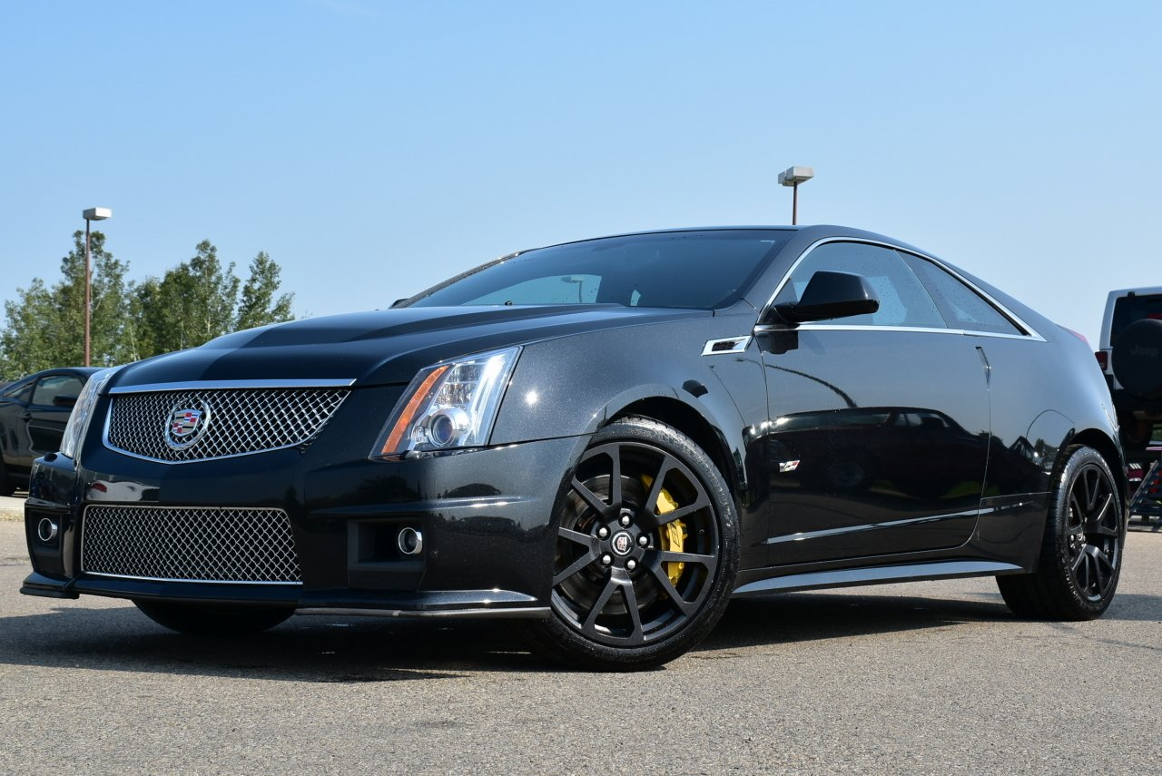 2012 cadillac cts v coupe 2 door