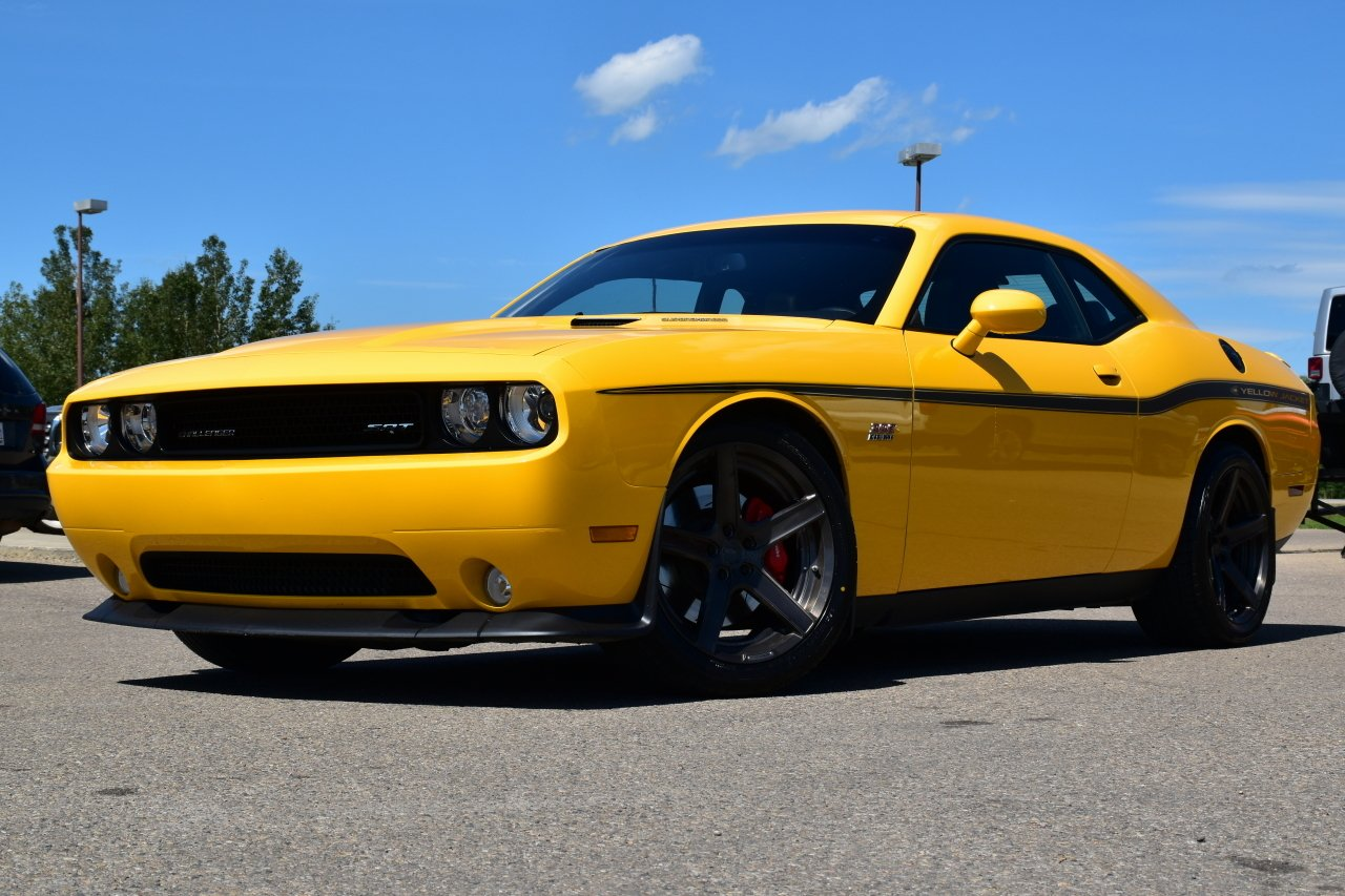 2012 dodge challenger srt8 yellow jacket supercharged