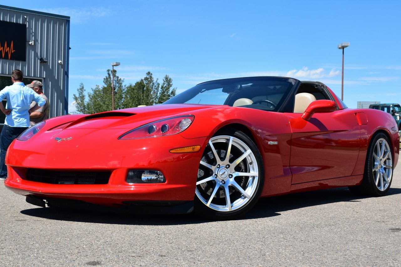 2005 chevrolet corvette ls2 supercharged targa top