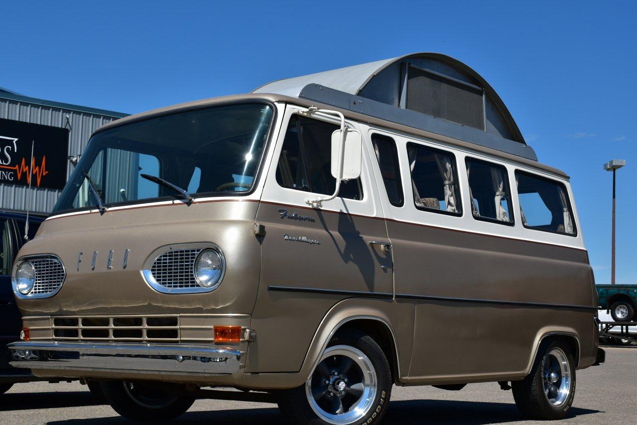 1965 ford falcon travel wagon camper van