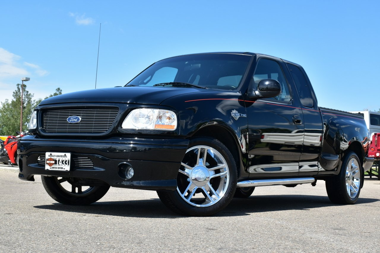 2000 ford f 150 harley davidson limited edition