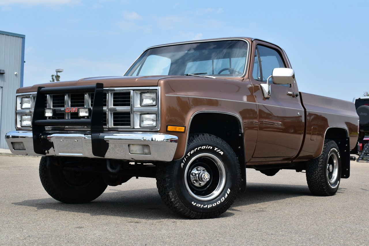 1981 gmc pickup k1500 4x4