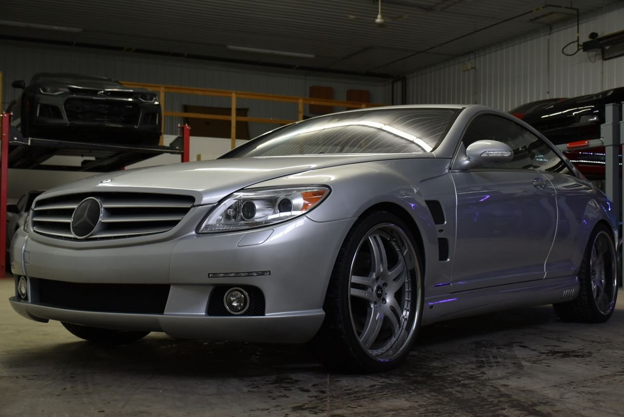 2007 mercedes benz cl600 lorinser twin turbo v12
