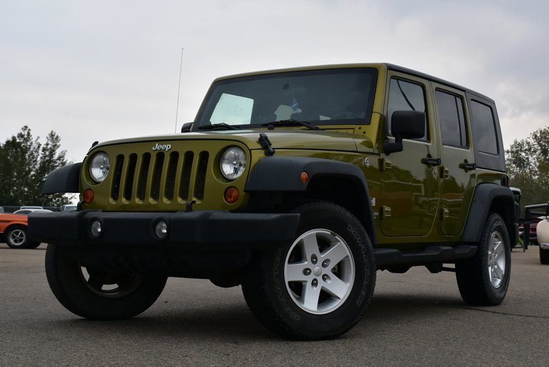 2007 Jeep Wrangler Unlimited X 4 Door for sale #99702 | MCG