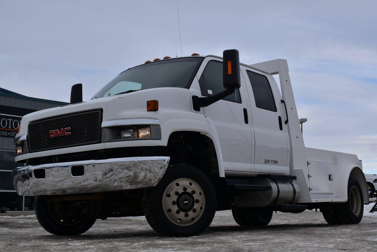2007 gmc tc5500 crew cab 4wd