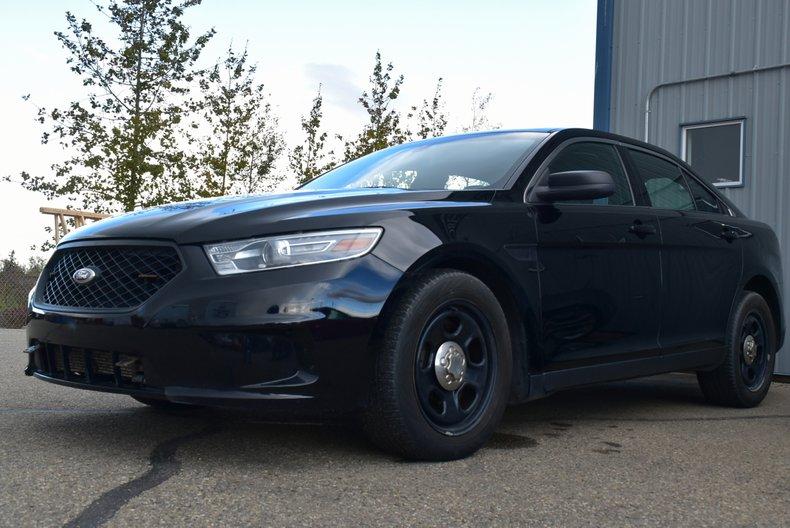 2013 ford taurus police interceptor sedan all wheel drive for sale 101614 mcg. Black Bedroom Furniture Sets. Home Design Ideas