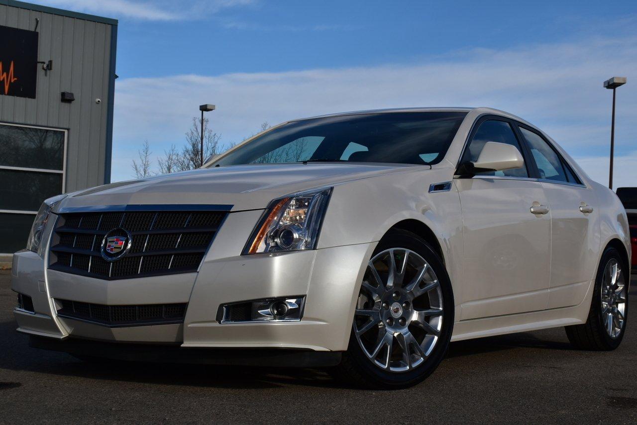 2011 cadillac cts sedan luxury performance awd