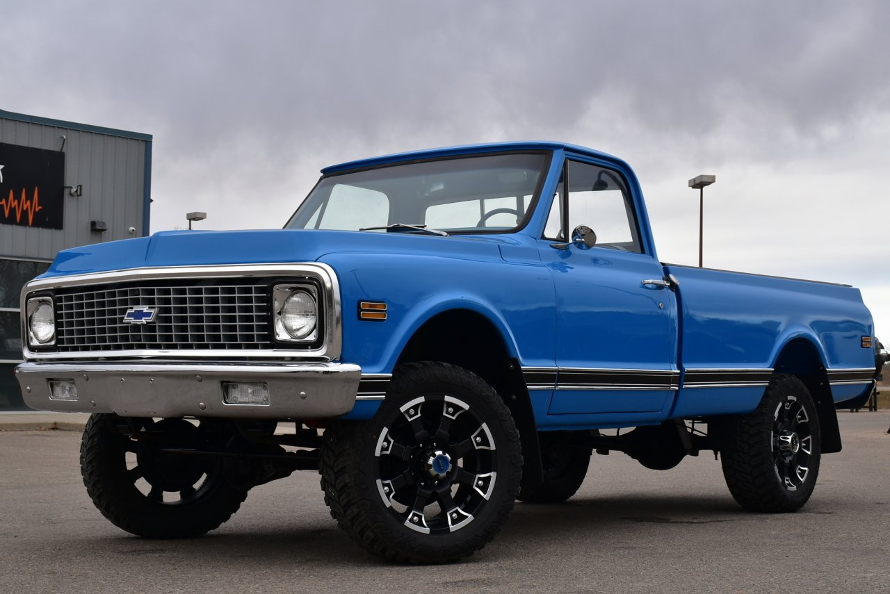 1971 chevrolet k 10 fresh build