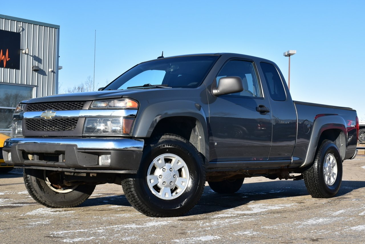 2008 chevrolet colorado lt ext cab 4wd