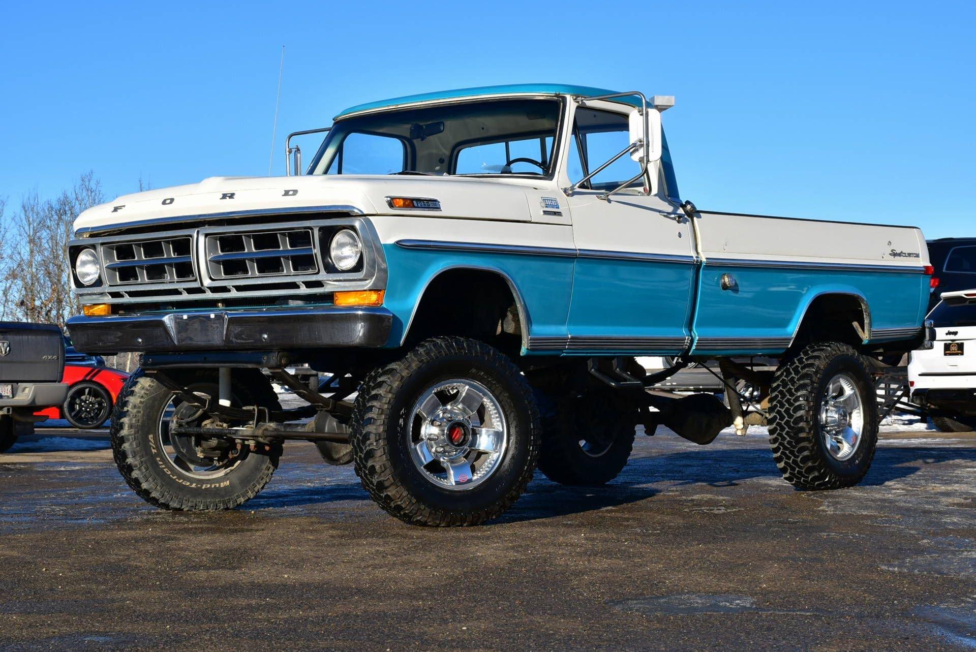 1971 ford f 250 lifted custom