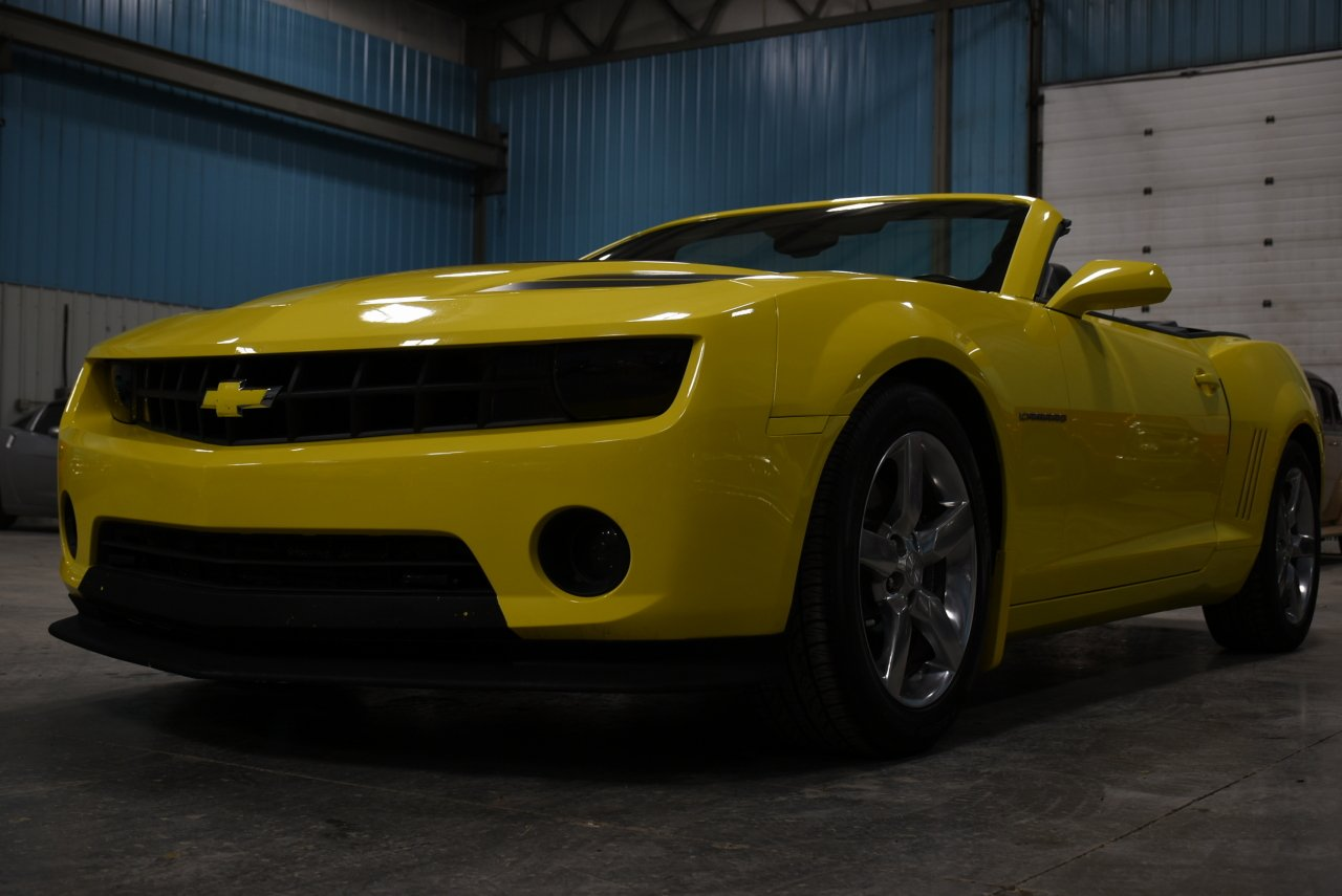 2011 chevrolet camaro 2lt rs convertible