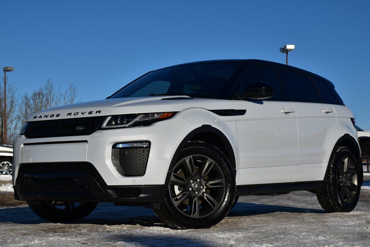 2018 land rover range rover evoque landmark special edition