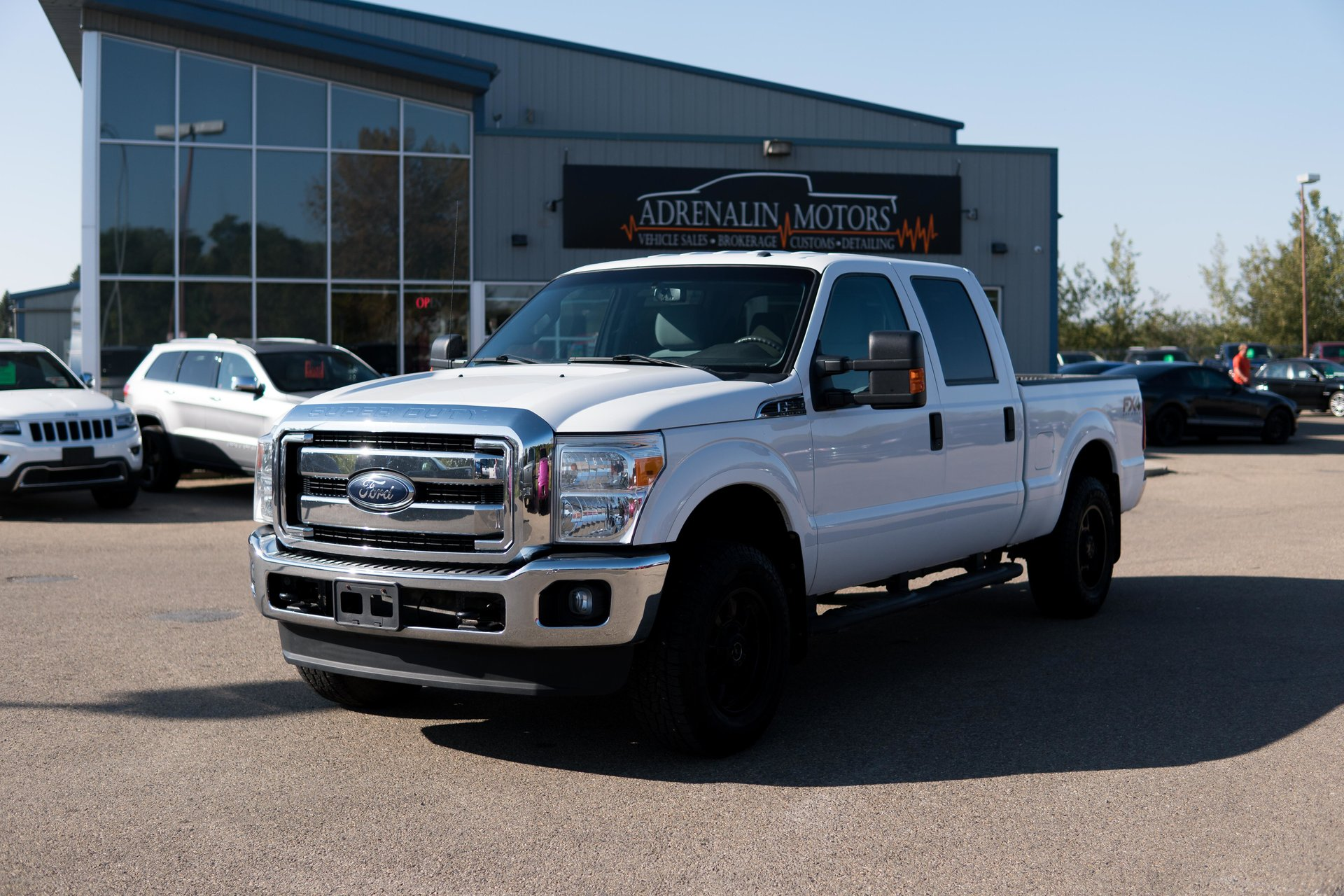 2012 ford f 250 supercrew fx4 pkg