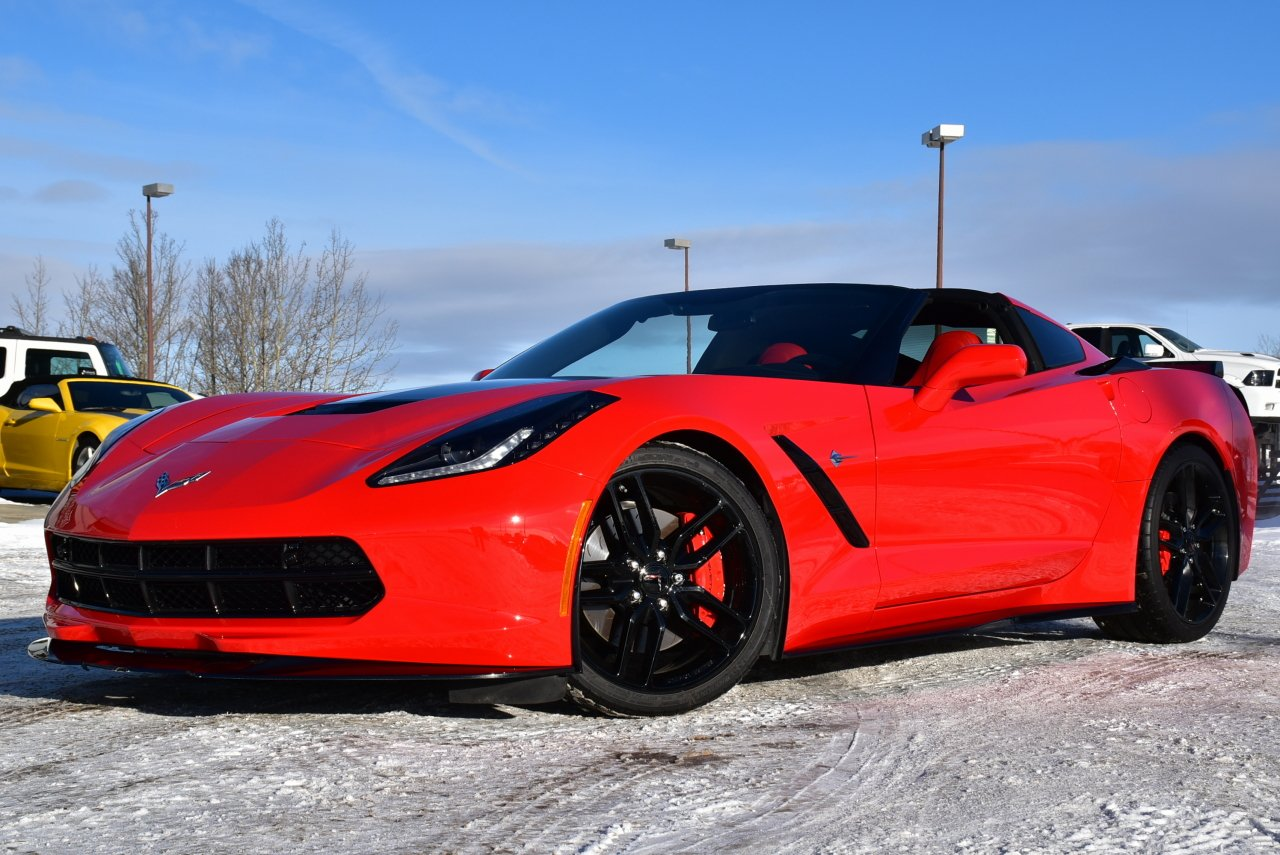 2016 chevrolet corvette stingray z51 w 2lt