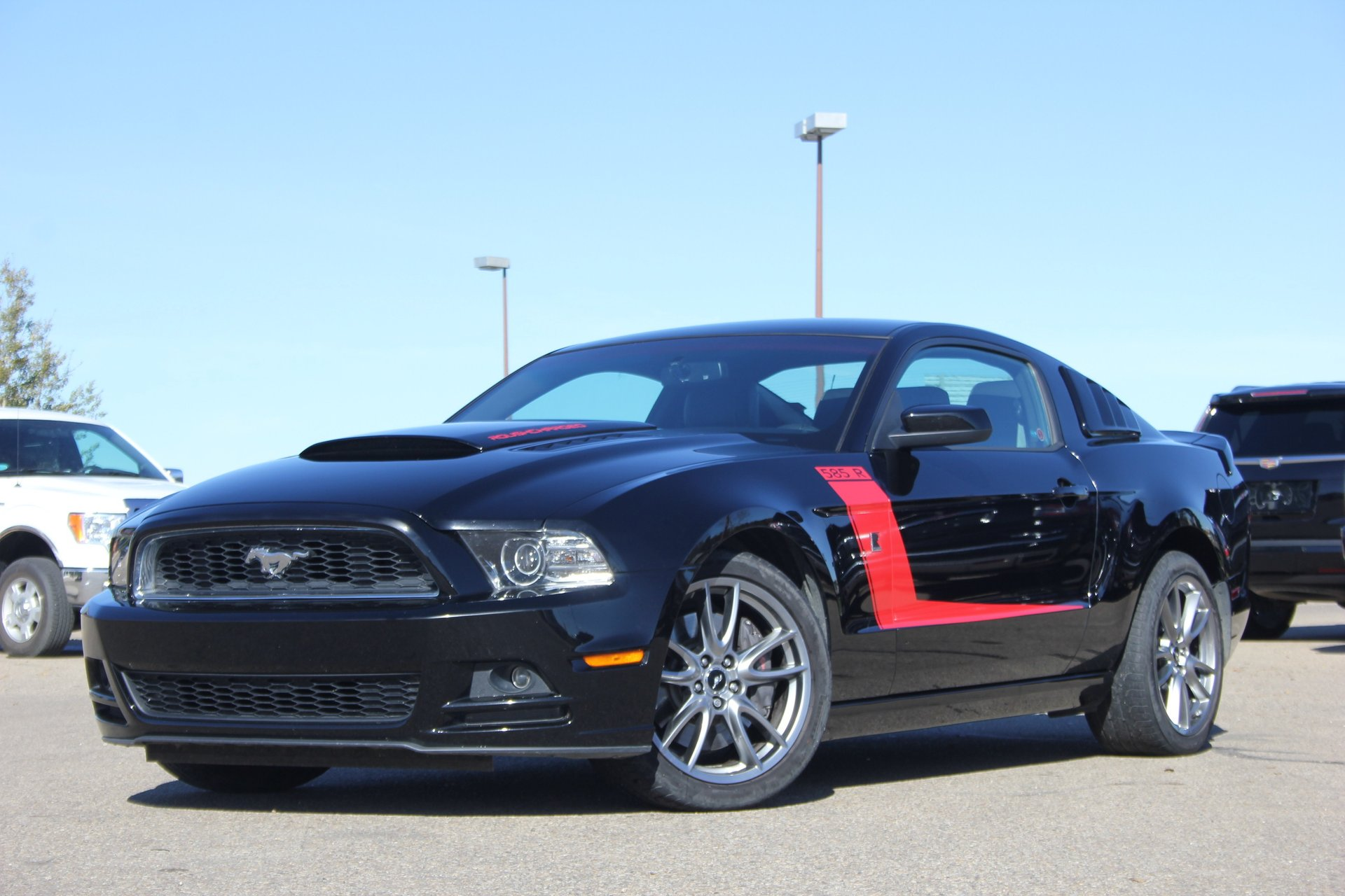 2013 ford mustang roush 585r supercharged