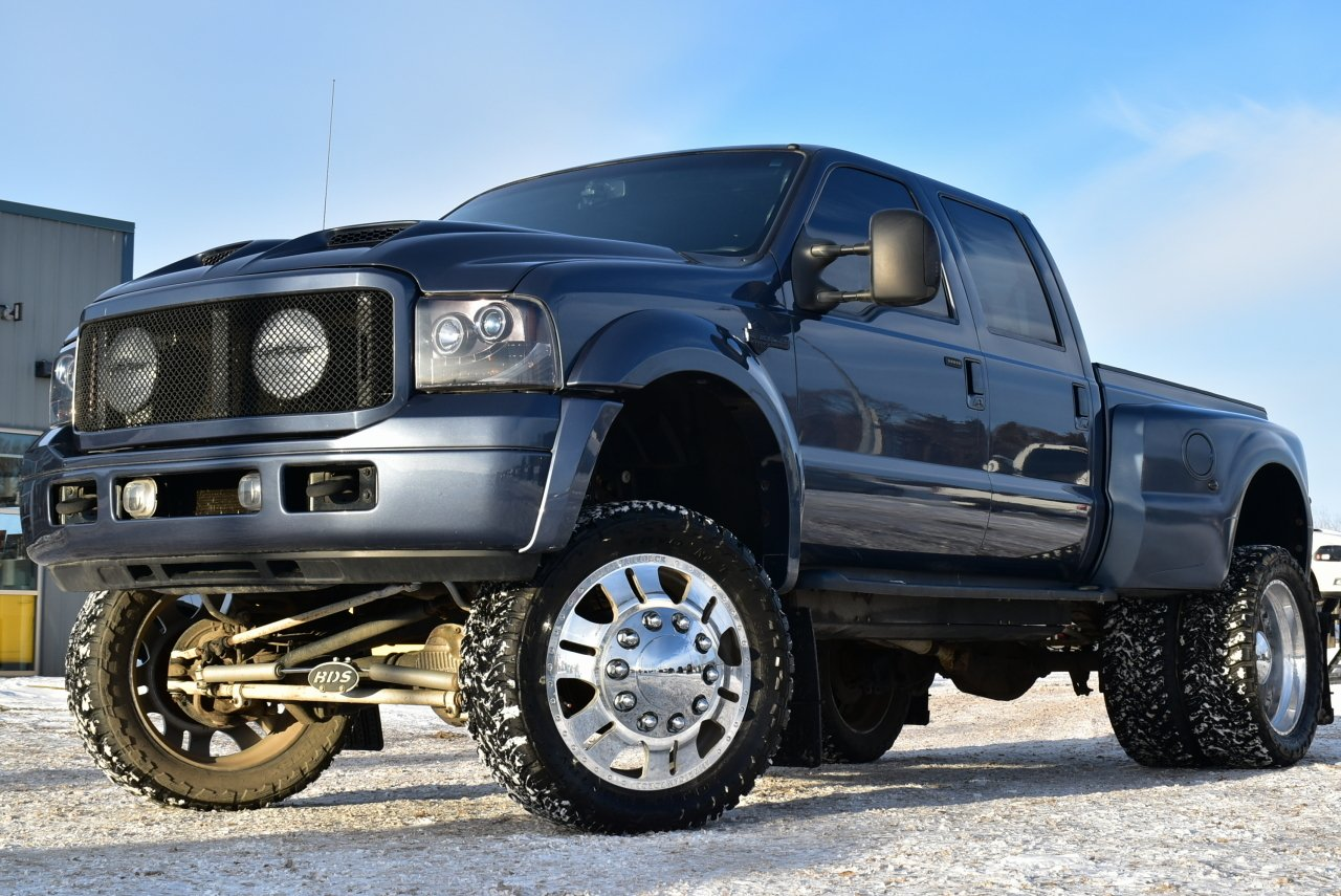 2007 ford super duty f 350 harley davidson custom dually