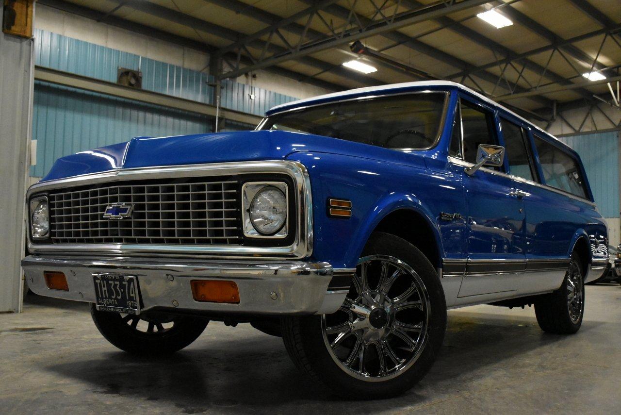 1972 chevrolet suburban custom deluxe highlander
