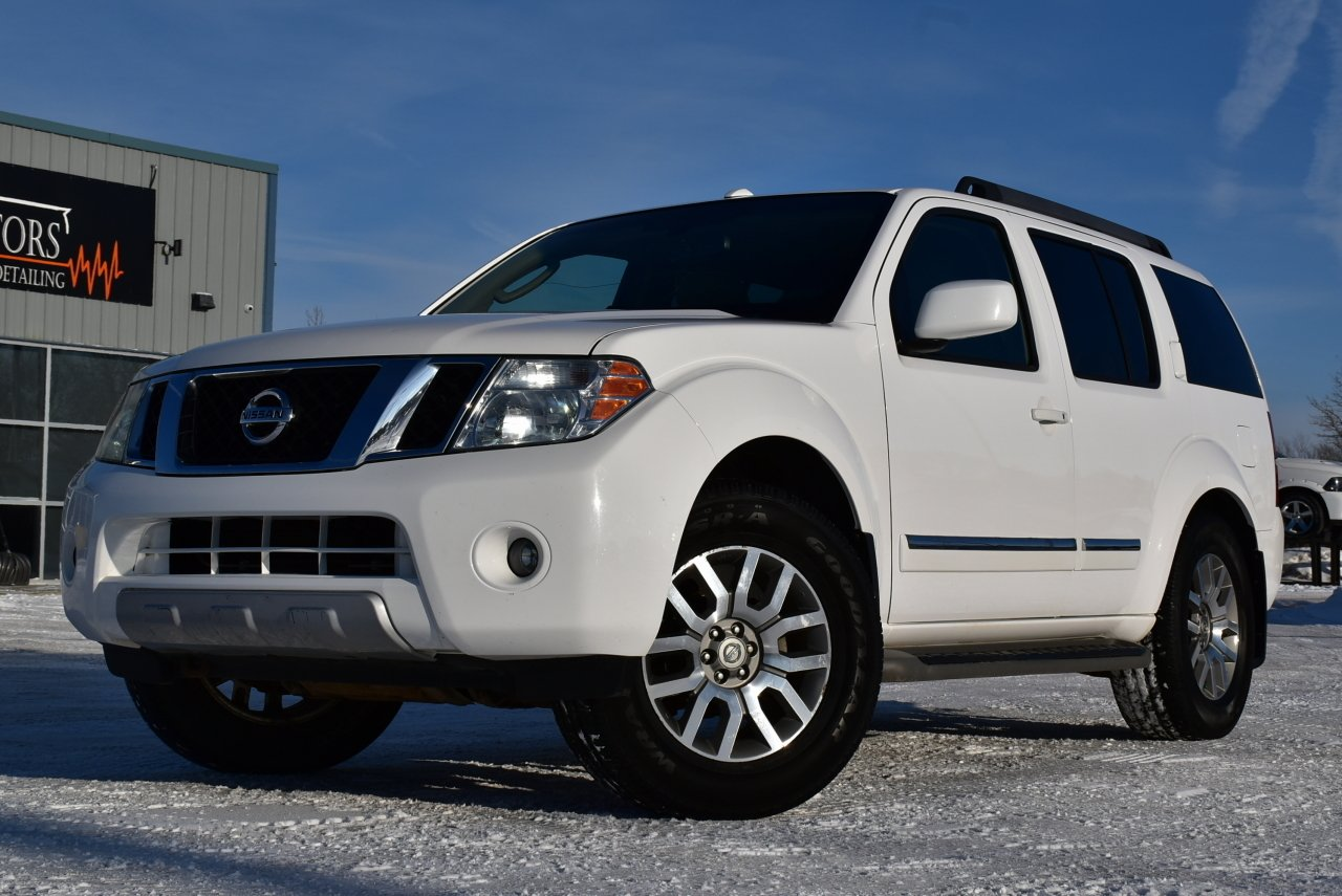 2011 nissan pathfinder le silver edition