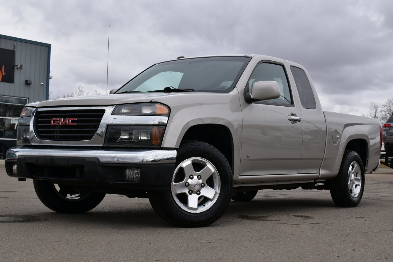 2009 gmc canyon sle ext cab