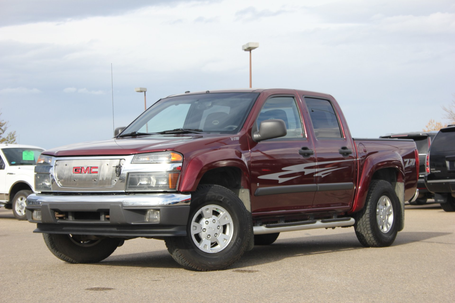 2007 gmc canyon sle gfx edition