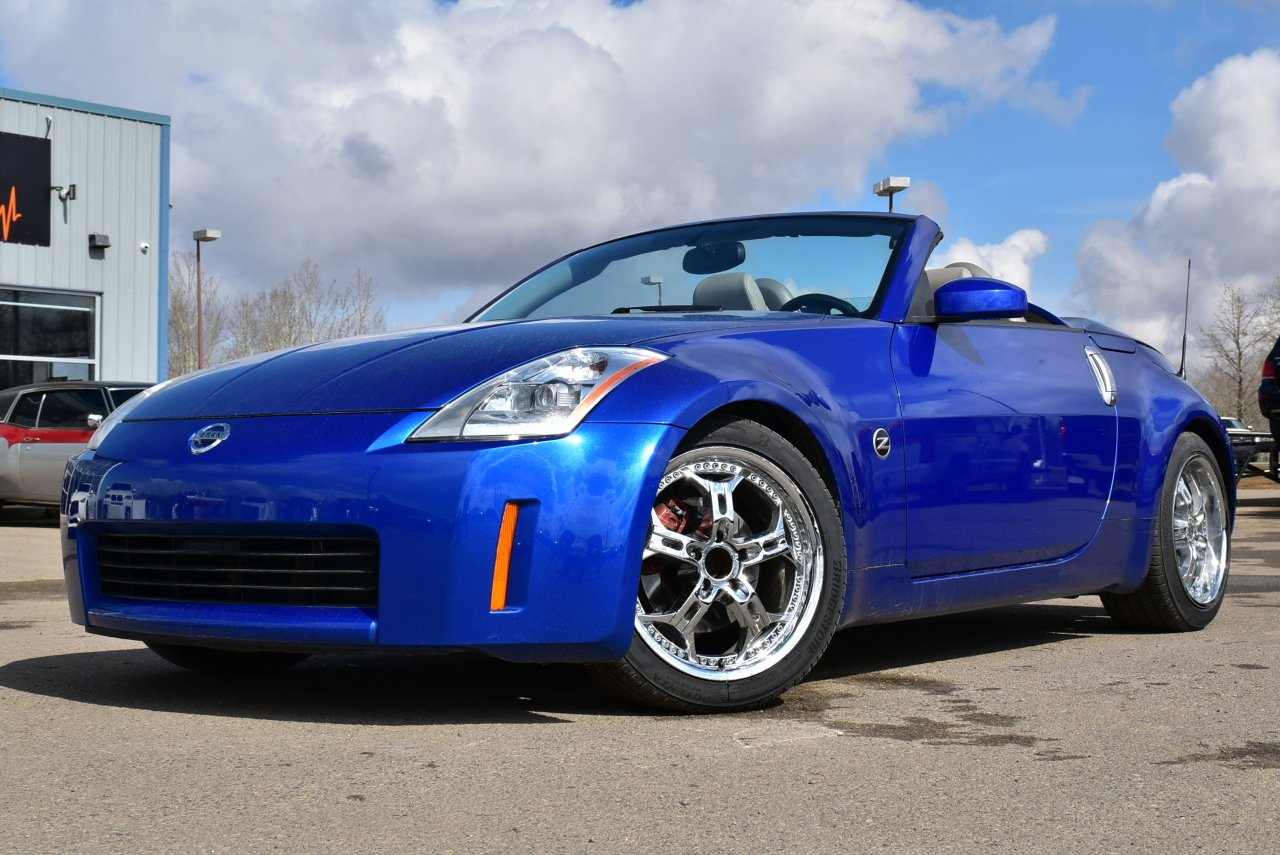 2004 nissan 350z roadster touring