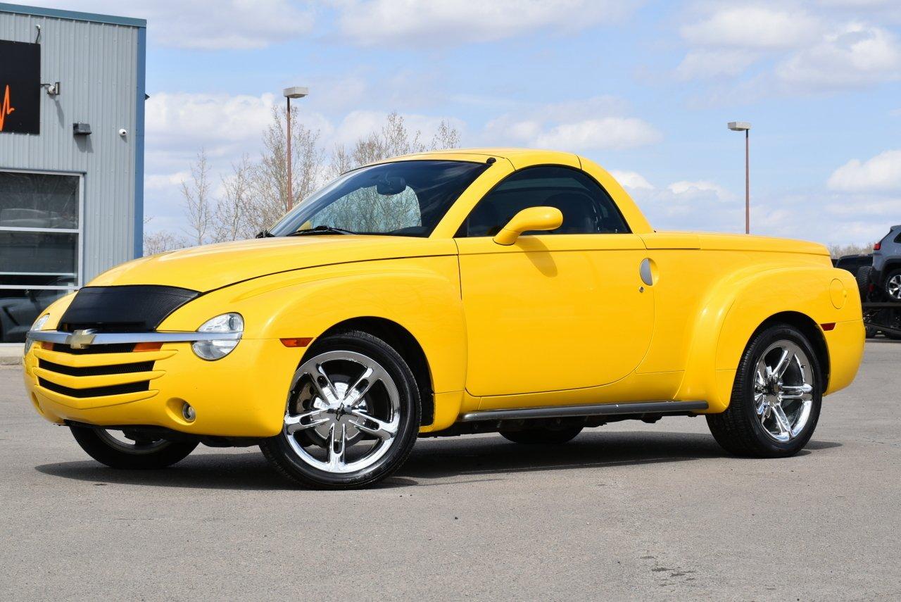 2004 chevrolet ssr hard top convertible