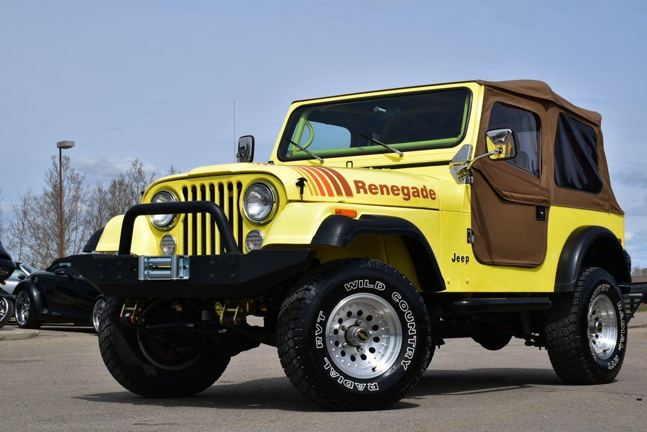 1979 jeep cj 7 fresh rebuild