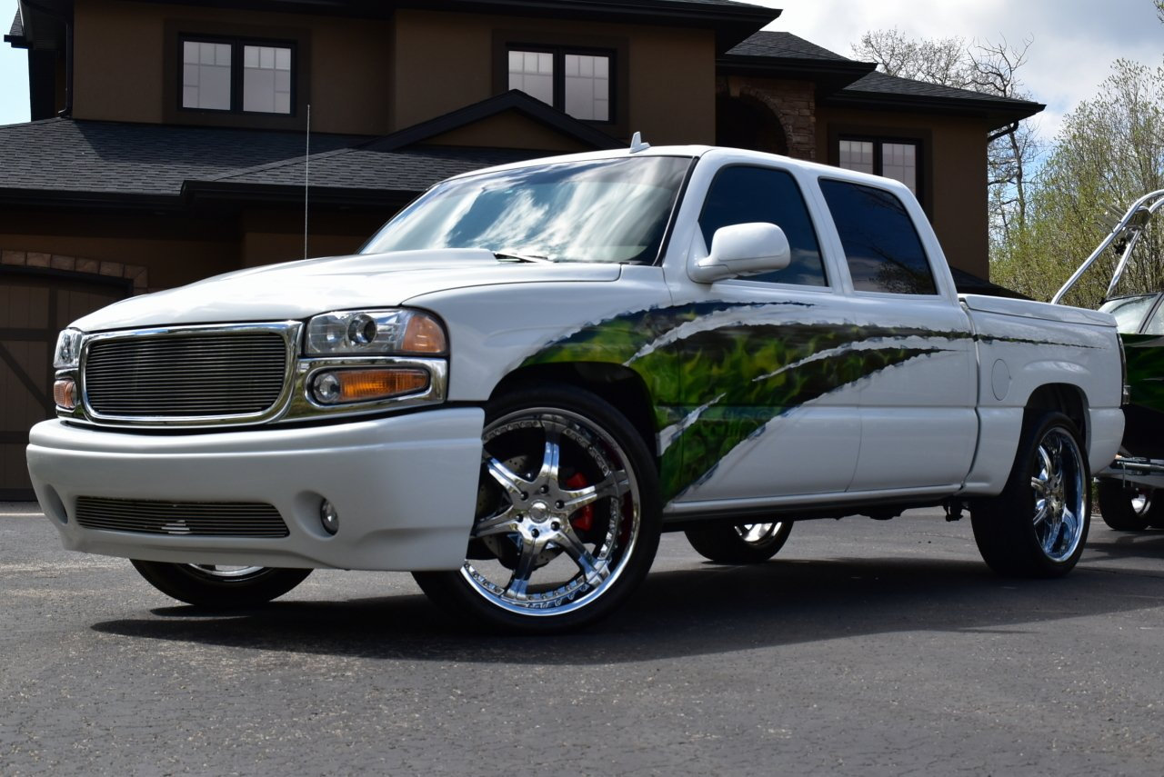 2006 gmc sierra denali full custom