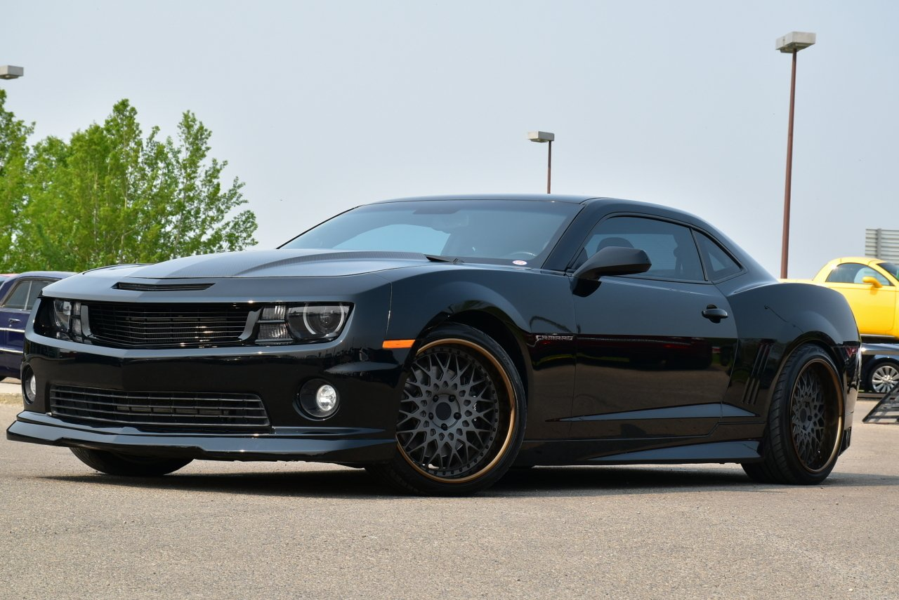 2012 chevrolet camaro full custom