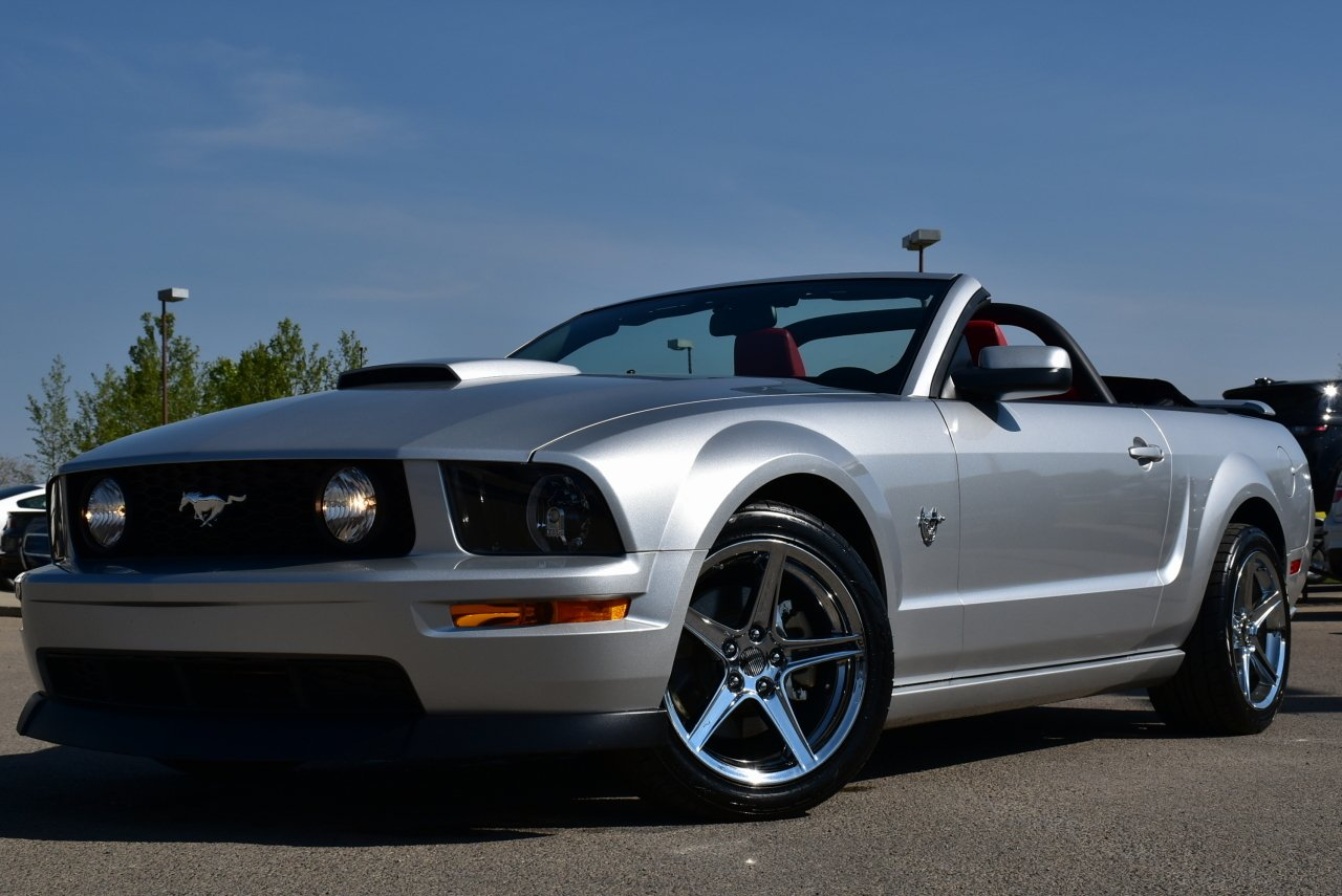 2009 ford mustang convertible gt
