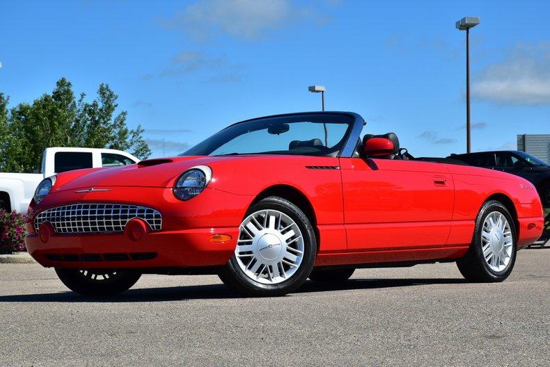 2002 Ford Thunderbird For Sale