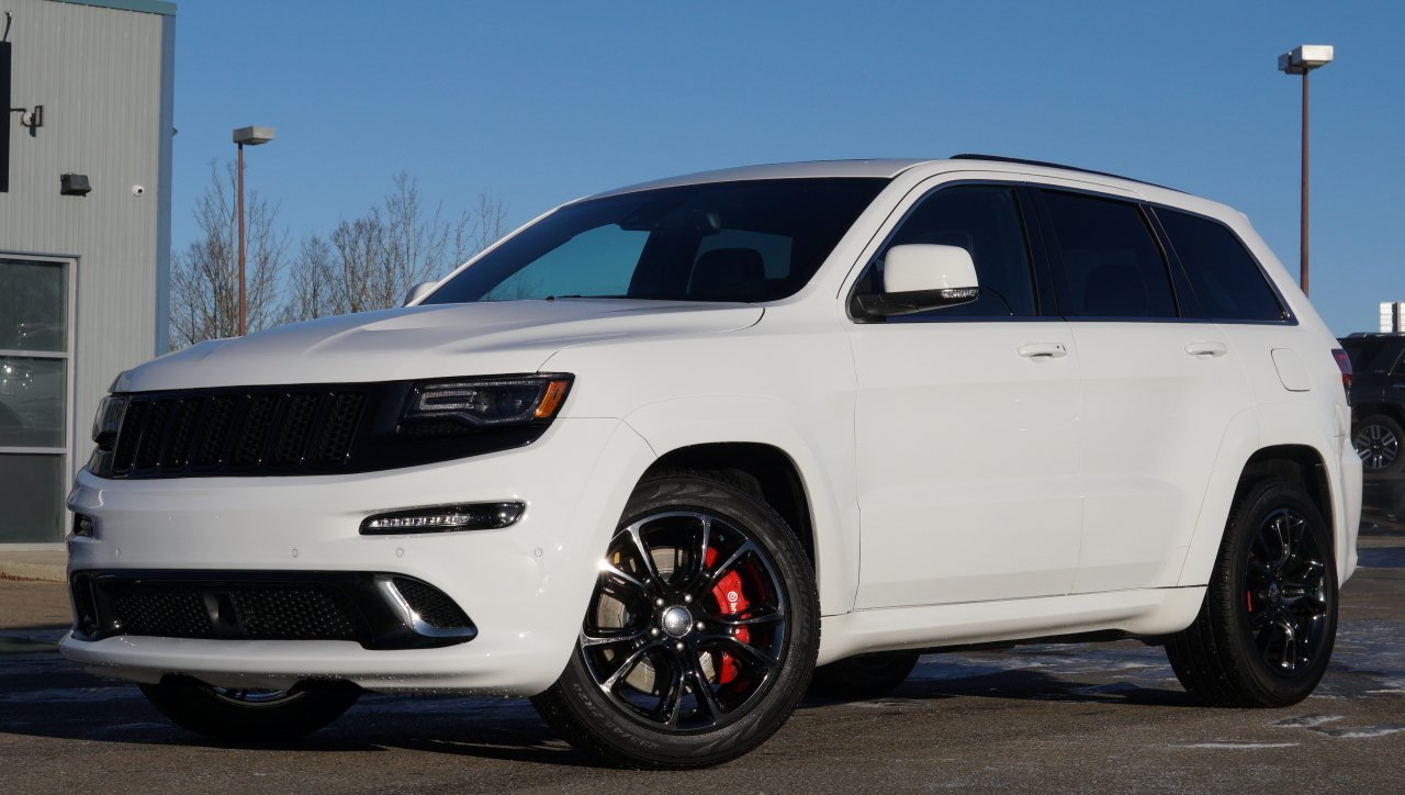 2014 jeep grand cherokee srt 8 with exhaust and intake