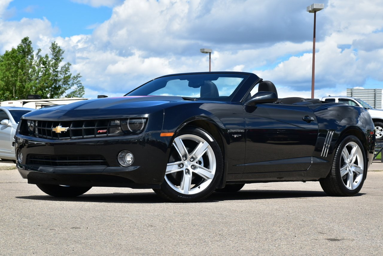 2012 chevrolet camaro rs convertible