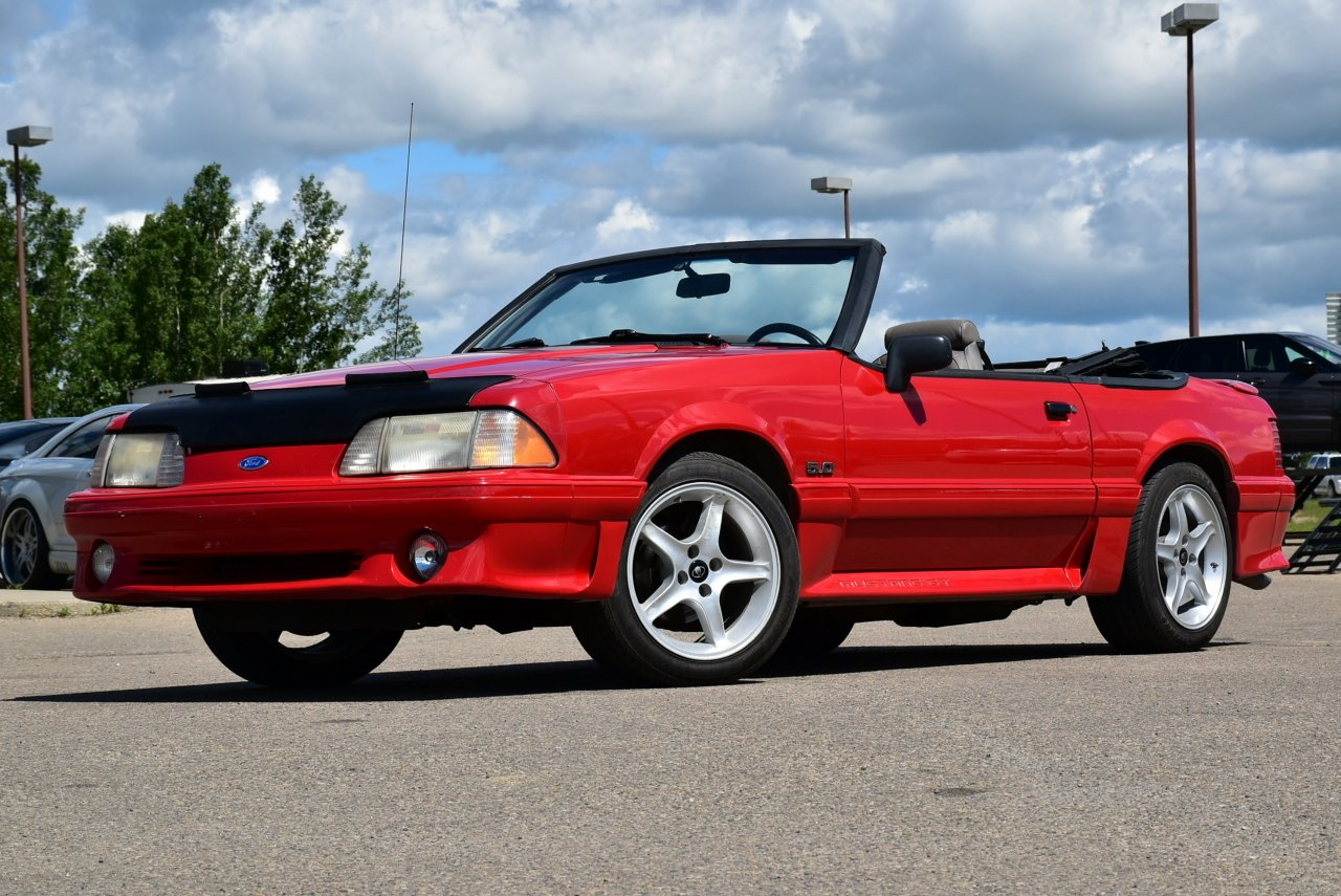 mustang gt convertible 1992 ford fox body rare under