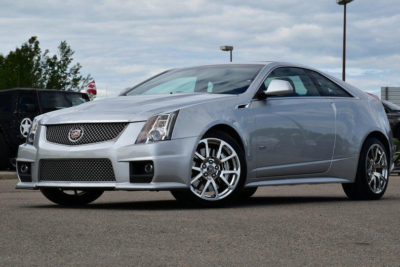 2013 Cadillac CTS-V Coupe