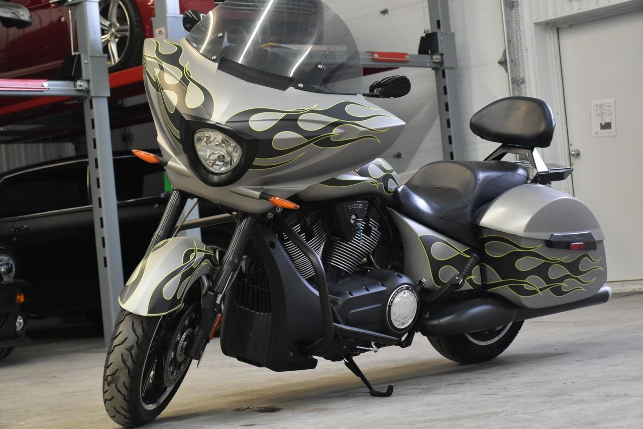 2014 victory cross country