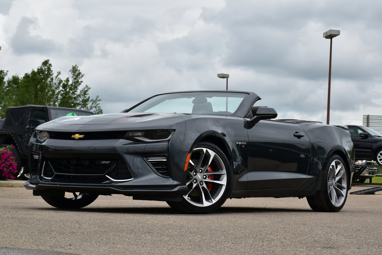 2017 chevrolet camaro 50th anniversary edition 2ss