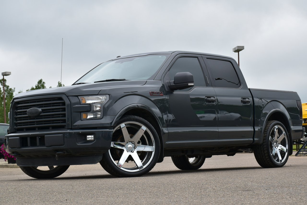2016 ford f 150 sport lowered
