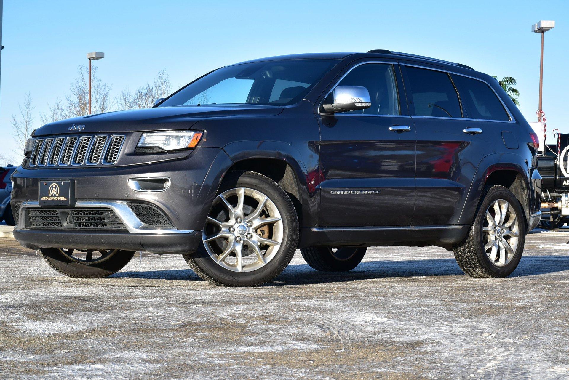 2014 jeep grand cherokee summit turbodiesel