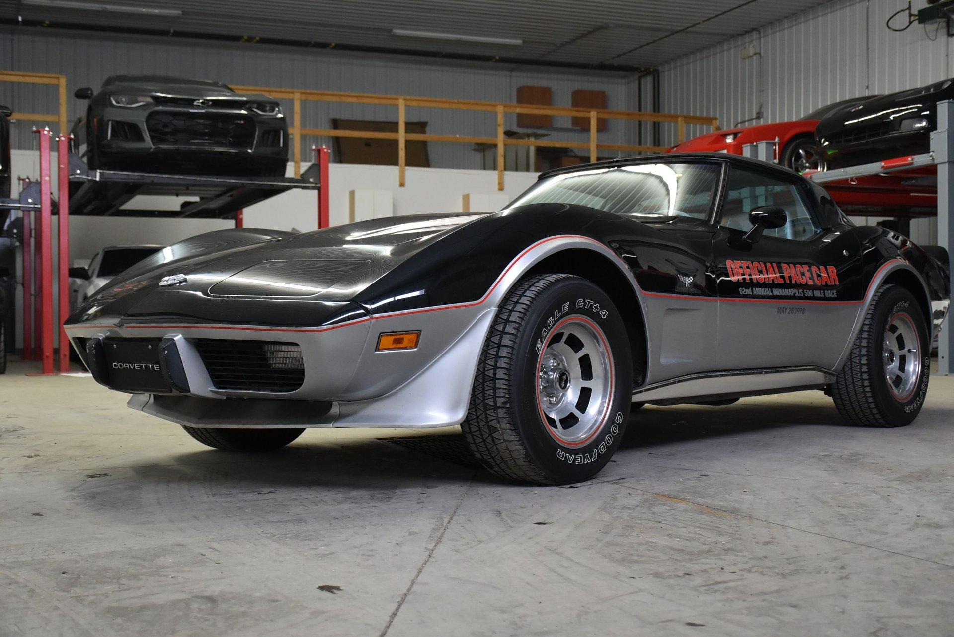 1978 chevrolet corvette limited edition pace car