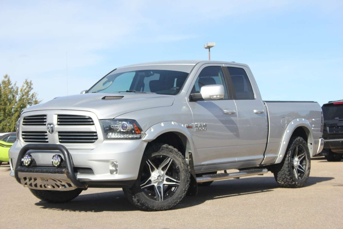 2013 ram 1500 sport quad cab fully loaded