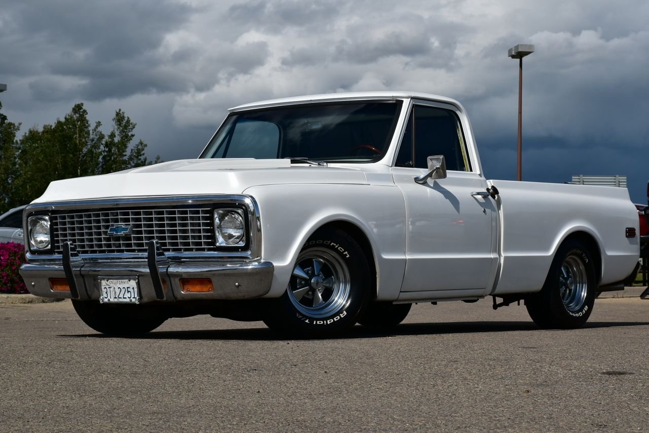 1971 chevrolet c10 lowered