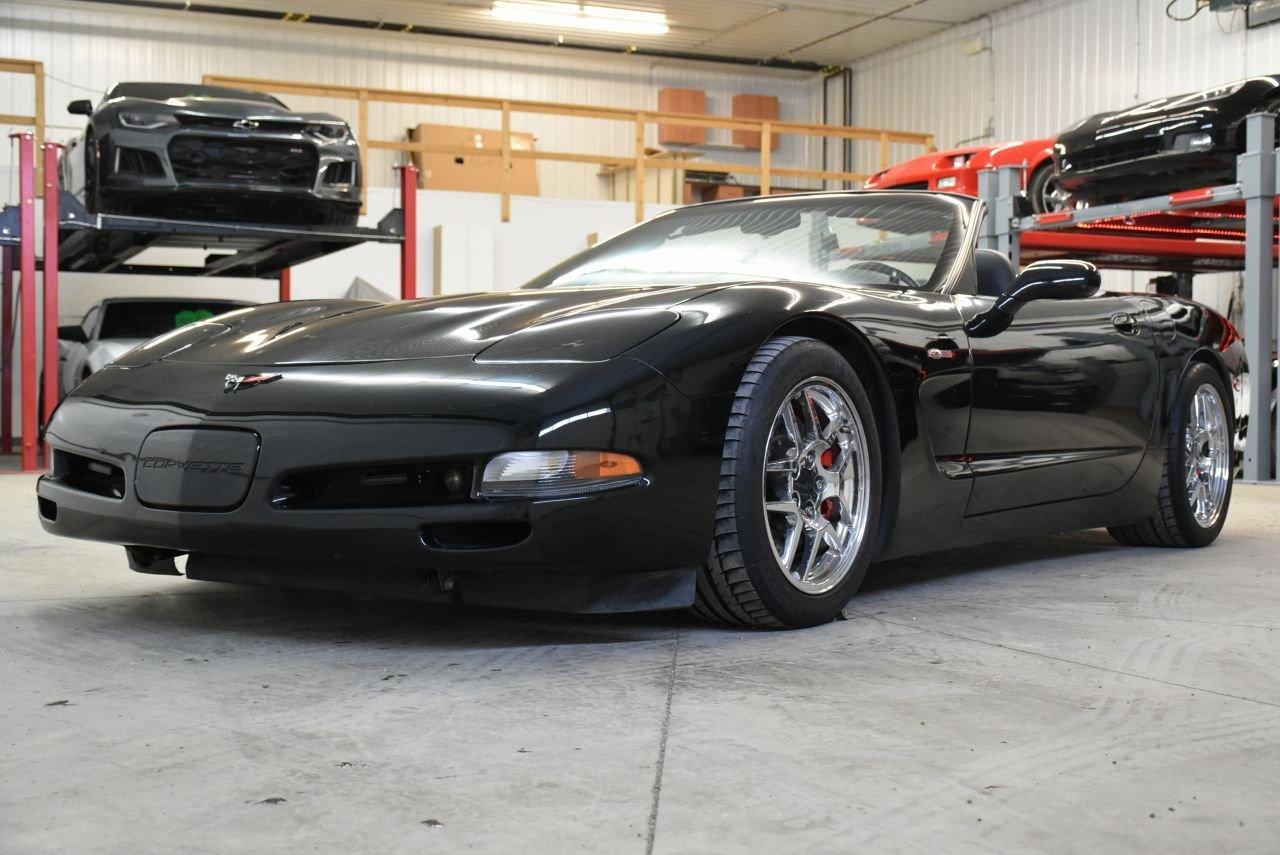 2002 chevrolet corvette supercharged convertible