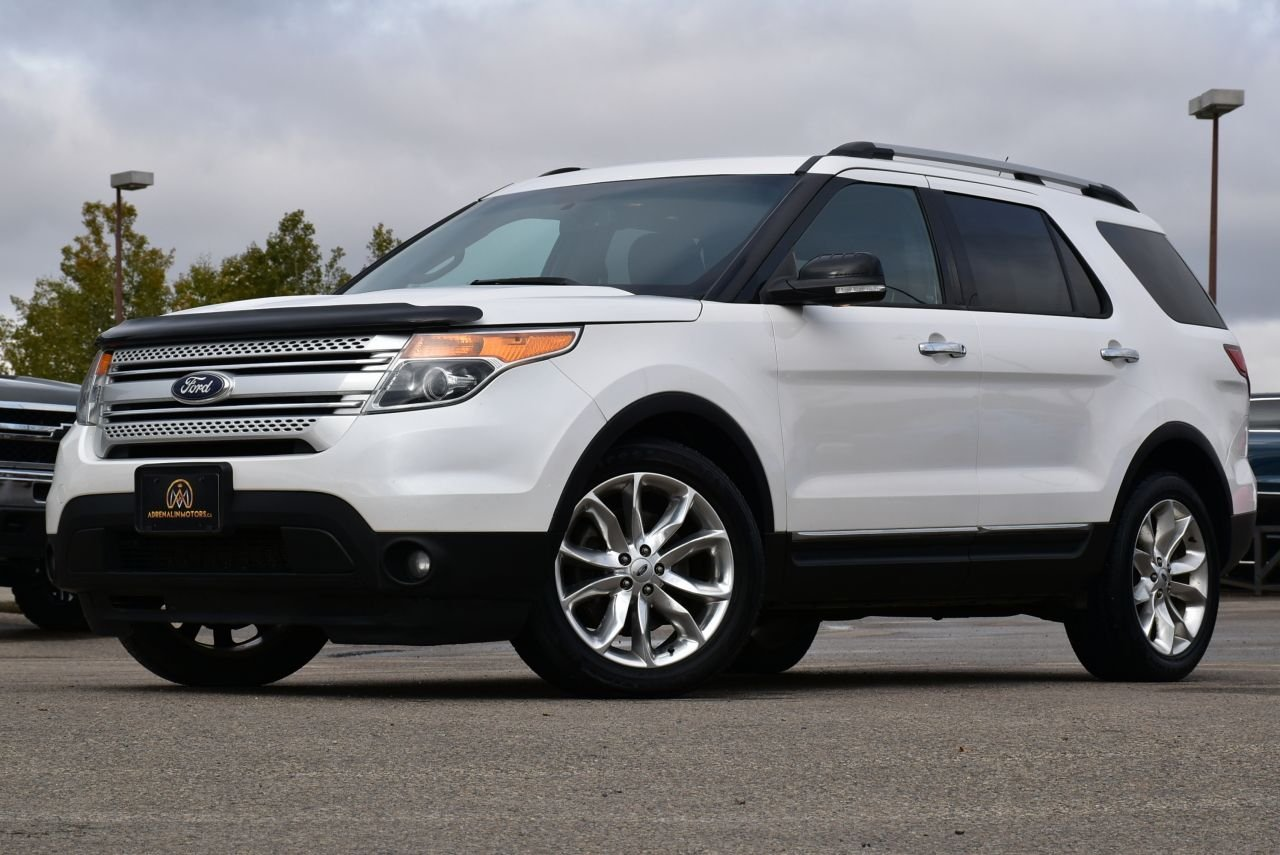 2014 ford explorer xlt awd loaded
