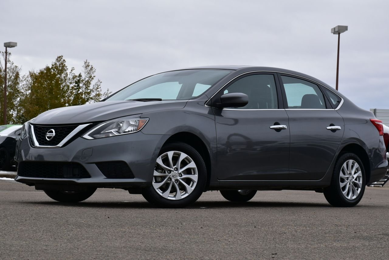 2019 nissan sentra sv w sunroof and style package