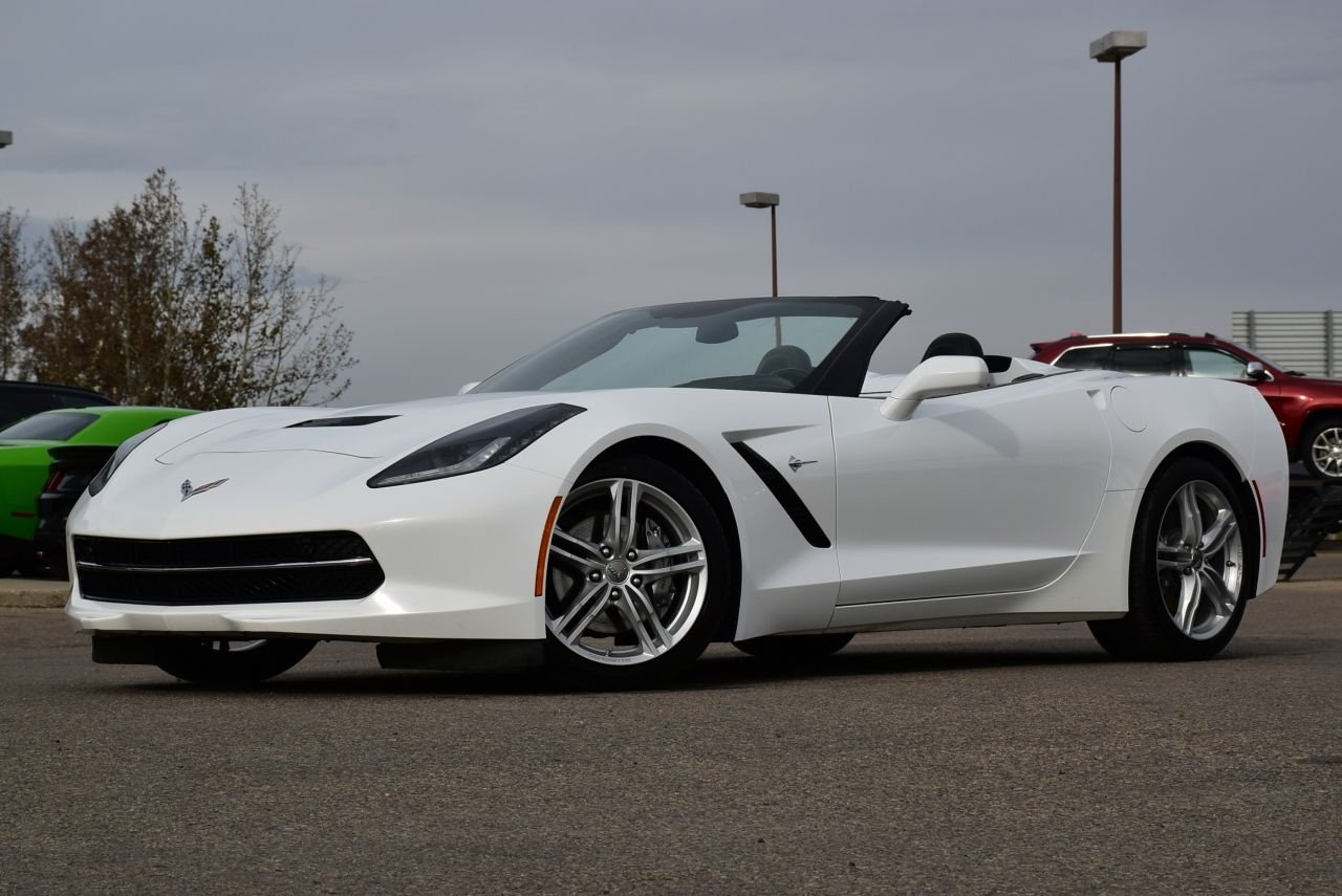 2016 chevrolet corvette stingray convertible w 3lt