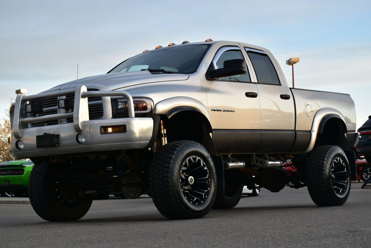 2003 dodge ram 3500 twin turbo full custom