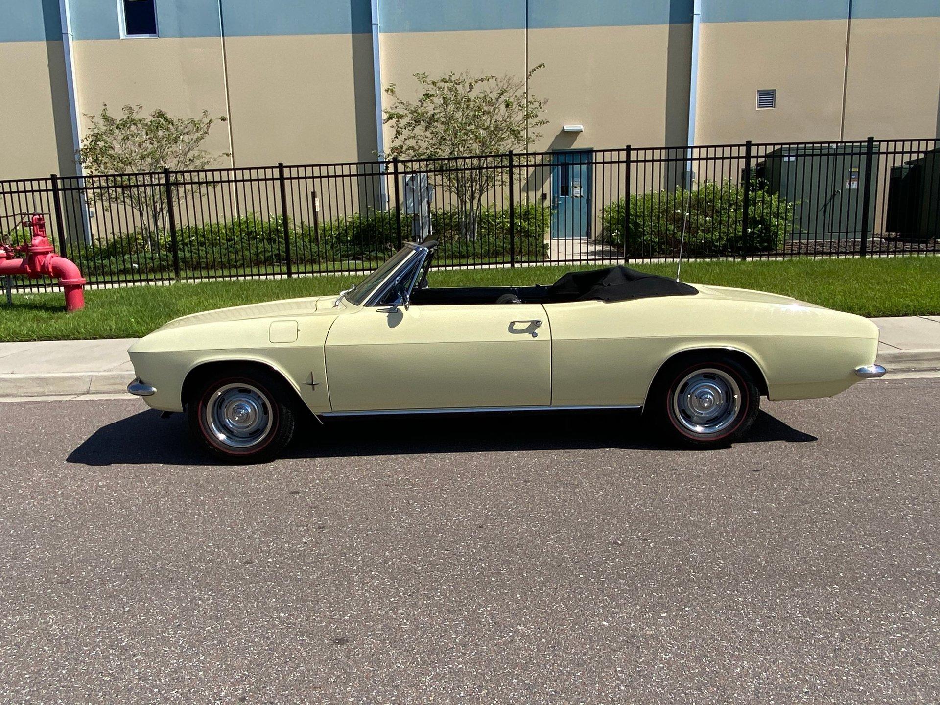 1966 chevrolet corvair 110 convertible